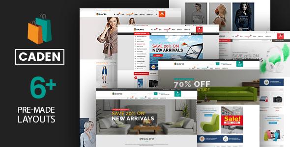 Caden – Mega Store Responsive WordPress Theme