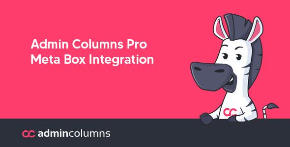 Admin Columns Pro – Meta Box Integration