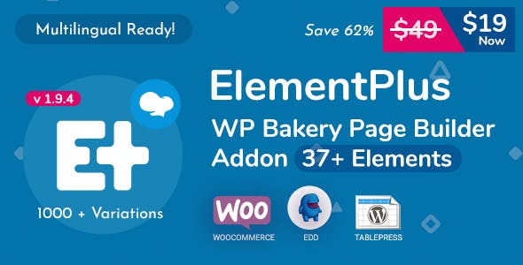 Element Plus WPBakery Page Builder Addon