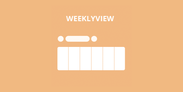 Eventon Weekly View Add On