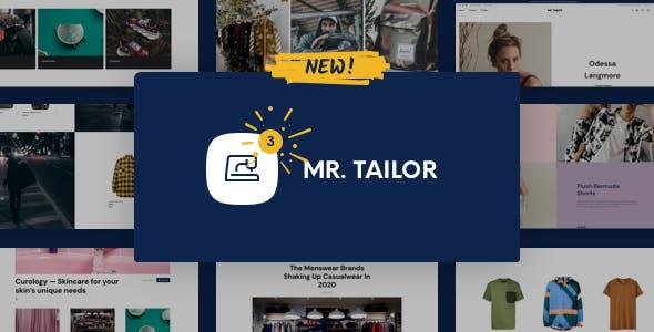Mr Tailor WooCommerce Theme