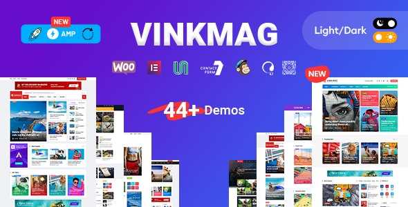 Vinkmag AMP Newspaper Magazine Theme