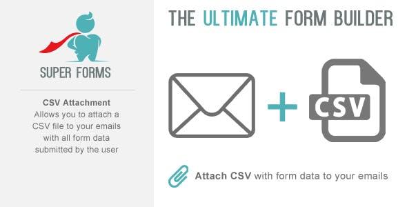 Super Forms CSV Attachment Add On