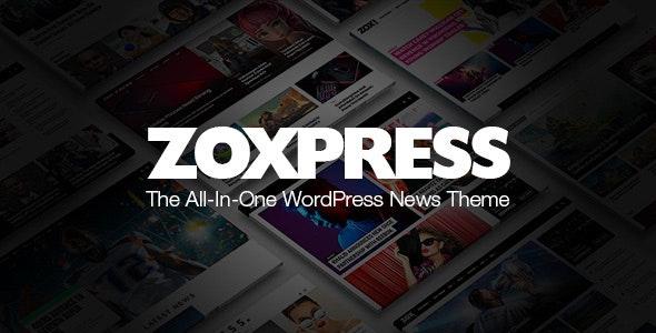 ZoxPress News Wordpress Theme