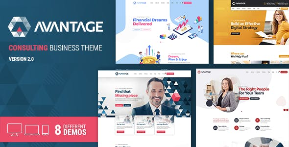 Avantage Business Consulting Theme