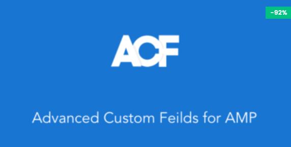 Advanced Custom Fields for AMP