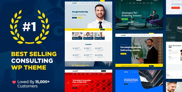 Consulting Business Finance Theme