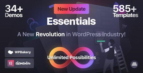 Essentials Multipurpose Theme