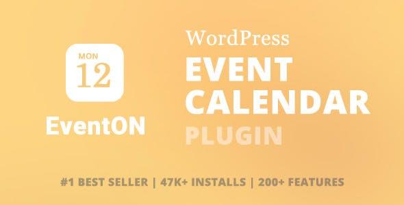 EventOn Event Calendar Plugin