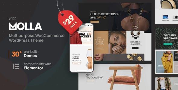Molla MultiPurpose WooCommerce Theme