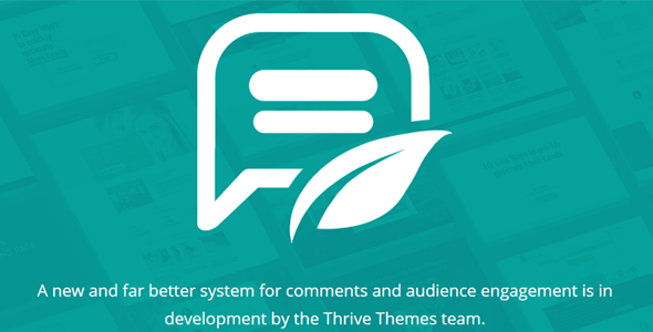 Thrive Themes Comments Wordpress Plugin