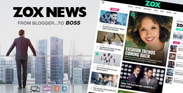 Zox News News And Magazine Theme