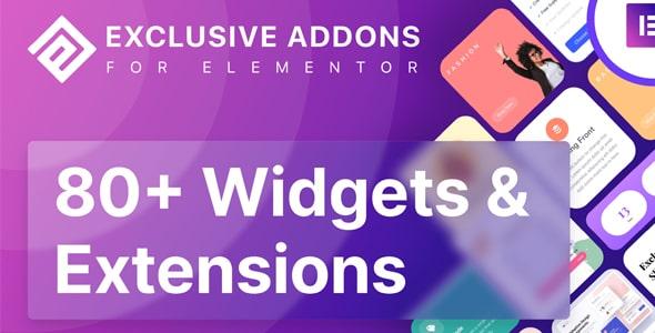 Exclusive Addons Elementor Pro