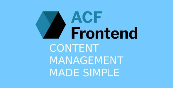 ACF Frontend For Elementor Pro