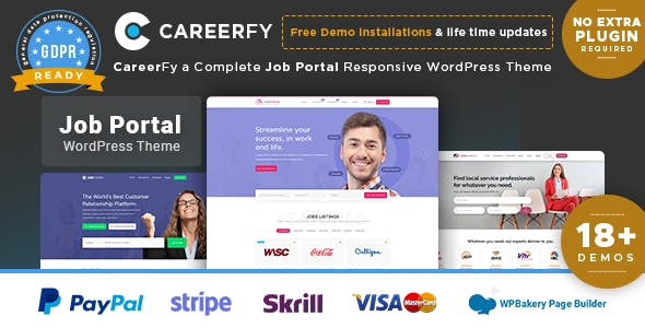 Careerfy Job Board WordPress Theme