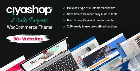 CiyaShop MultiPurpose Theme