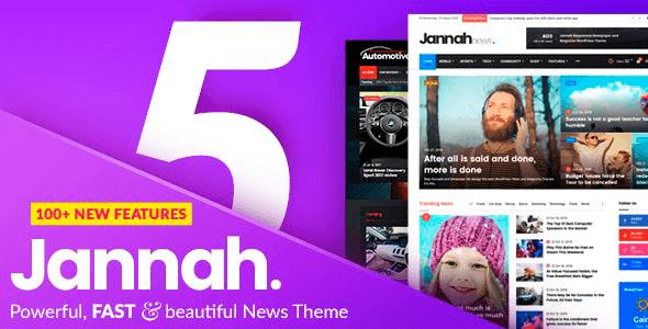 Jannah News Newspaper Magazine Theme