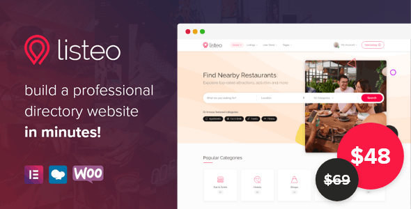 Listeo Directory And Listings Theme