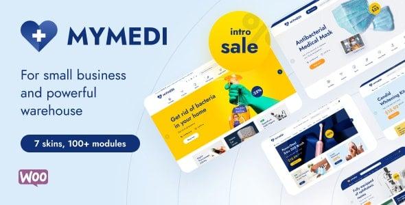 MyMedi Responsive WooCommerce Theme