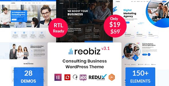 Reobiz Consulting Business Theme