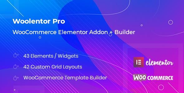 WooLentor Pro Elementor Woo Builder