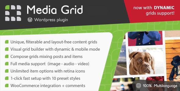 Media Grid Responsive Portfolio Plugin