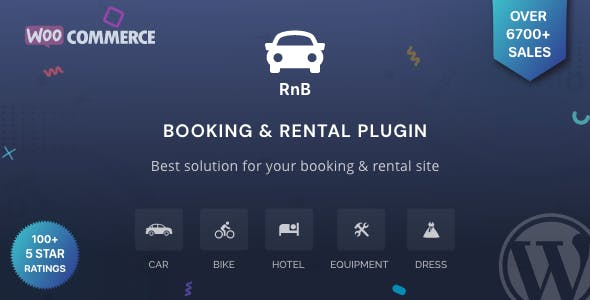 RnB WooCommerce Booking And Rental